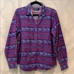 Vintage Ladies Wrangler Shirt